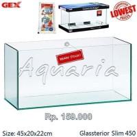 Ready Gex Glassterior Slim 450 Aquarium Promo