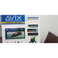 Tv Mobil Head Unit Double Din Android Avix Universal AX2AND2669