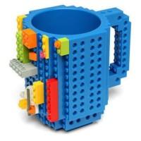 Kids Gelas Mug Lego Build on Brick Food Grade