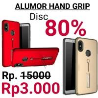 Alumor Smart Grip Stand Case iPhone 5 6 7 8 X Plus Soft Hard Case
