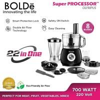 BOLDE Food Processor Blender 25 in 1 - OLYMPUS