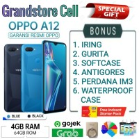 OPPO A12 RAM 4/64 GB GARANSI RESMI OPPO INDONESIA