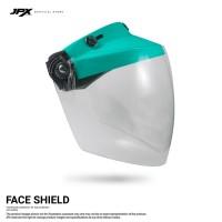 Face Shield/ Kaca APD - Tosca Blue Doff