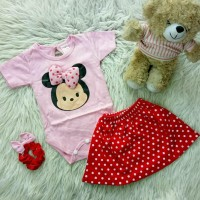 baju jumper anak bayi cewek perempuan motif karakter lucu bestseller