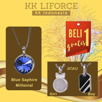 KK Liforce SALE! Buy 1 Get 1 ( Blue Sapphire Milenial )