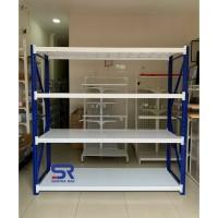 Rak Gudang 4 Susun Kapasitas 1200 kg Uk 200 x 200 x 60 cm- Starting