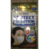 Masker Unicharm Protect Pollution isi 2