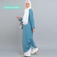 MOOIMOM Dress Muslim with Drawstring - Dress Hamil Menyusui