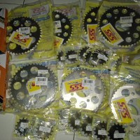 gear 428 Tiger cb150r sonic sss 13 sampai 16 40 sampai 45 rantai tk