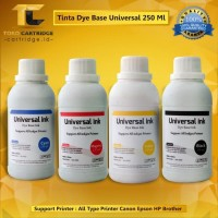 Tinta universal 250 ml Printer Canon IP2770 IP 2770 G3010 G4000 G4010 - Hitam