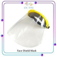 Face Shield Mask / Masker Pelindung Wajah Transparan / Anti Bakteri