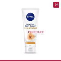 Nivea Body Serum Extra White Care & Protect SPF 15 180ml