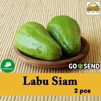 Sayur organik premium - Labu Siam (2pcs)
