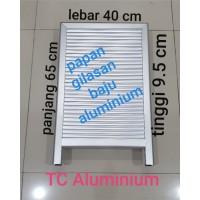 Papan Gilasan Aluminium (Besar) Cuci Baju