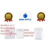 AirPods Apple Gen 2 with Pop Up Animation Apple IOS & Android TWS