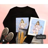 Tumblr Tee/Shirt/Kaos Wanita Lengan Panjang LIMITED GIRL