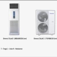 AC PANASONIC FLOOR STANDING 5PK CS-J45FFP8/ CSJ45FFP8 CS J45FFP8