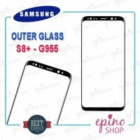 Kaca Depan LCD Outer Glass Gorilla Glass Samsung S8+ S8 Plus Original