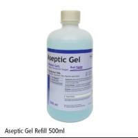 Aseptic Gel Onemed termurah 500ml Refill - Hand Sanitizer