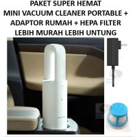 Xiaomi COCLEAN Mini Portable Vacuum Cleaner + Adaptor + Filter