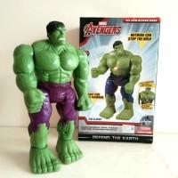 Mainan Anak Robot Hulk Avengers Marvel Bisa Jalan