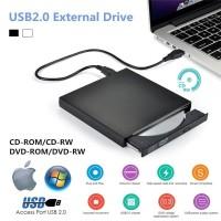 External CD DVD Drive,USB 2.0 Slim Portable Extrnal CD-RW Drive DVD-RW