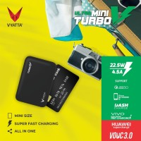 VYATTA MINI TURBO V VOOC 3.0 POWERBANK 22.5W - Huawei, Vivo, QC3.0 -NF