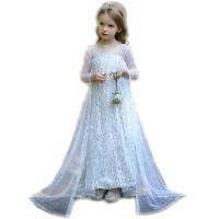 Baju Elsa Frozen 2 Putih Bling CG72