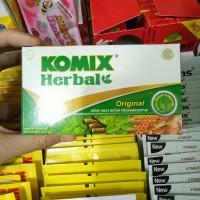 Komix Herbal Original sirup obat batuk redakan batuk 6 sachet