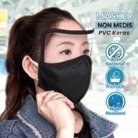 Masker Anti Corona Masker Anti Bacteria With PVC1 - 1 pcs