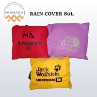 RAIN COVER PELINDUNG TAS 80L PELINDUNG TAS WATERPROOF