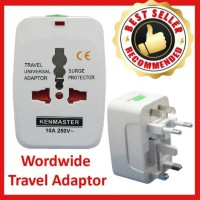 Steker Adaptor / Kenmaster Steker Travel Universal