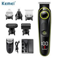 Alat cukur rambut kemei Hair Clipper Trimmer grooming Set KM-696