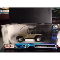 Diecast Maisto Jeep Wrangler Rubicon - Skala 27