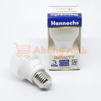 Hannochs Infinity 3W 3 watt w Lampu Bohlam LED Bulb Putih Kuning