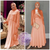 MAXI RACHEL SALEM [Gamis 0121] TDT Baju Gamis Wanita Terbaru