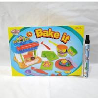 Fun Doh Bake It Lilin Mainan Anak FunDoh PlayDoh Play Doh
