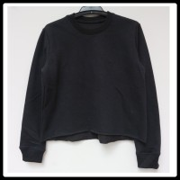 Justice / Sweater hitam / Sweater anak / Baju Branded