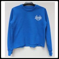 Justice / Sweatshirt biru anak / Sweater anak / jaket anak