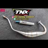 Knalpot Ninja 2 Tak Kobra Stainless TNX Racing Not Creampie Aitech