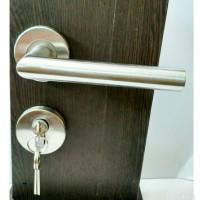 kunci pintu pisah / handle roset / kunci pintu