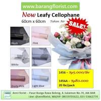 New Leafy Cellophane (1456A) 20 lbr/pack, aksesoris bunga, kertas bung
