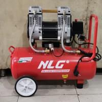 NLG kompresor silent oilless compressor OC 1730 13/4HP tank 30lt 8bar