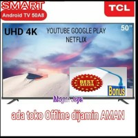 TCL LED TV 50 inch 50A8 SMART ANDROID 9 DIGITAL NETFLIX