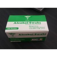ALCOHOL SWABS MEREK GP CARE FALMED ONEMED 1 box/ 50pcs ORIGINAL