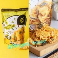 Ei Salted Egg Potato Chips Wonton Chicken Skin Keripik Kentang - Wonton Chips