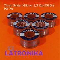 Timah Solder Milioner 250g Bersih 250 g Timah Milioner 1/4Kg 1/4 Kg
