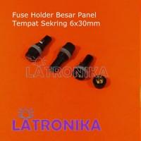 Fuse Holder Besar Panel Box Rumah Fuse Panjang Tempat Sekring 6x30mm