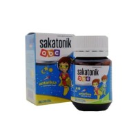 Suplemen Makanan dan Multivitamin Sakatonik ABC Aneka Rasa 1 Botol