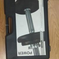 dumble/barbel set adjustable iron 10kg merk kettler